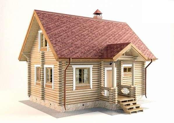 Дом-баня с двумя спальнями и кухней-гостиной