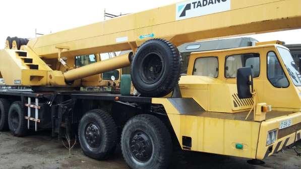 Автокран г/п 65 тн TADANO