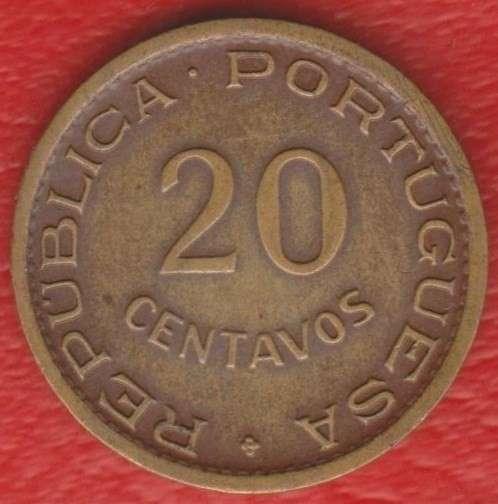 Мозамбик Португальский 20 сентаво 1950 г