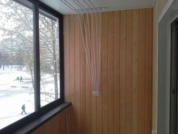 Обшивка балконов вагонкой в