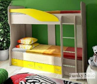 Фанки Соло-4 Двухъярусная кровать-чердак
