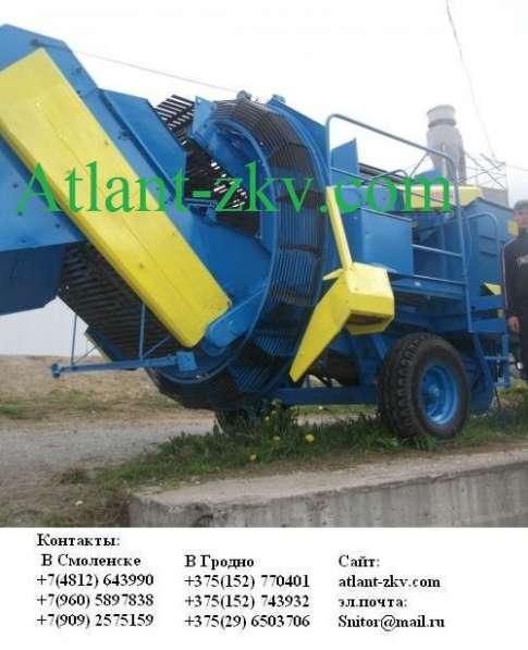 Картофелеуборочный комбайн «Анна» в Свердловской области