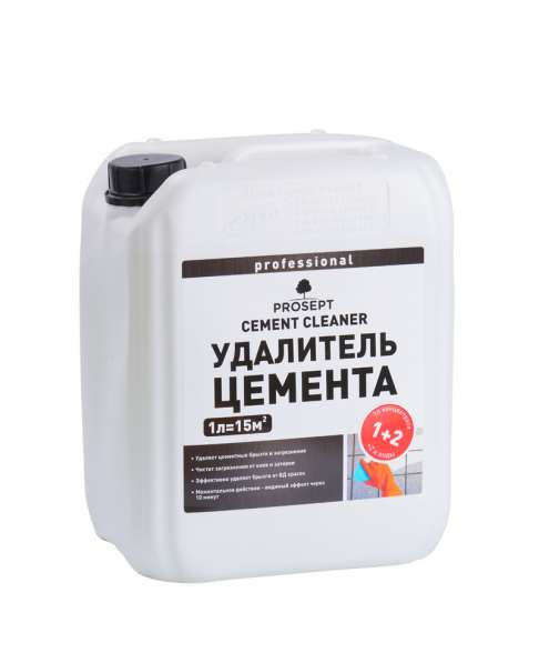 PROSEPT CEMENT CLEANER - смывка для бетона