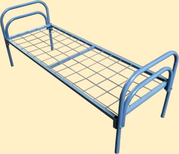 Металлические кровати для лагерей, рабочих, хостелов в Ярославле фото 3