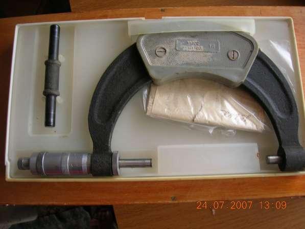 Микрометр гладкий МК400 кл 1 ц д 0.01