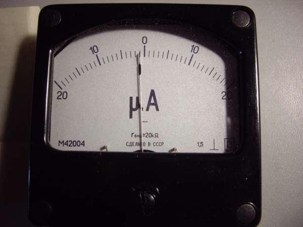 Микроамперметр М4204 2 штуки. в Челябинске фото 3