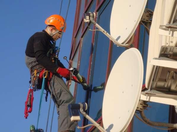 Демонтаж/Монтаж спутниковых антенн в Миснке
