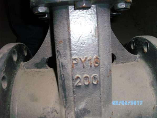 Задвижка стальная фланцевая ДУ200, РУ 16
