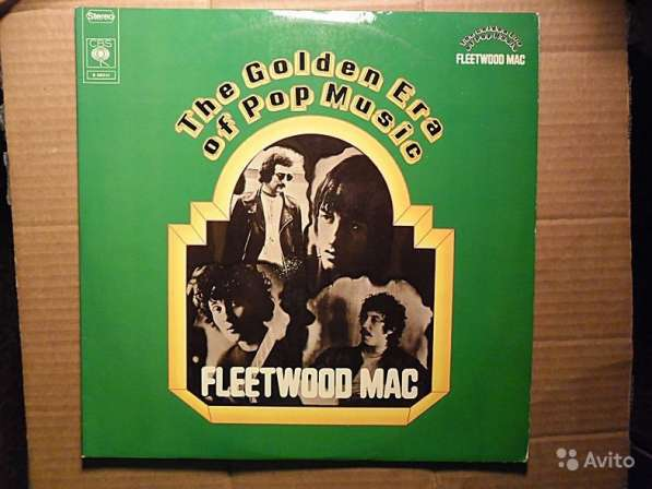Fleetwood Mac ‎- The Golden Era Of Pop Music