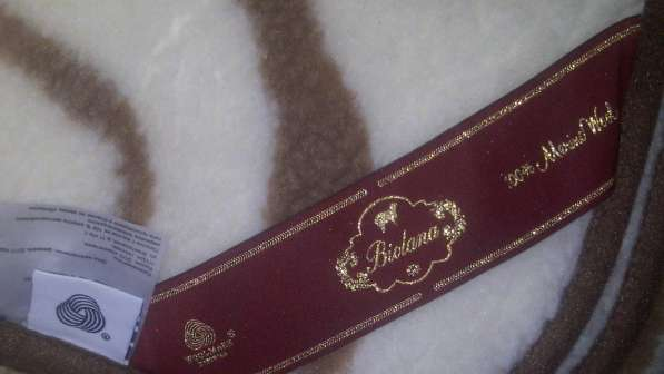 Продам новое одеяло из шерсти мериноса в Томске фото 5