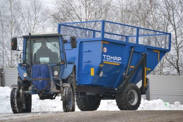 Прицеп тракторный Тонар ПТС-9 в Москве фото 5