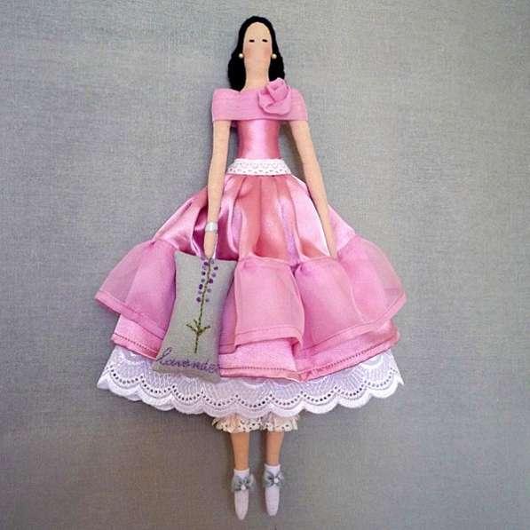 Кукла Тильда Лаванда