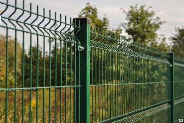 Еврозабор 3Д забор Система ограждения