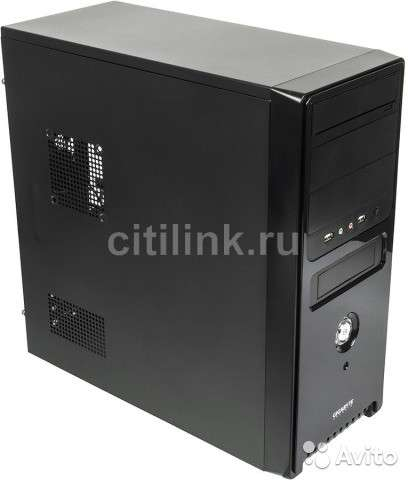 Корпус ATX gigabyte GZ-F2, Midi-Tower, без бп