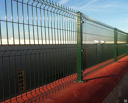 Еврозабор 3Д забор 1030х2500х4 мм Полимер