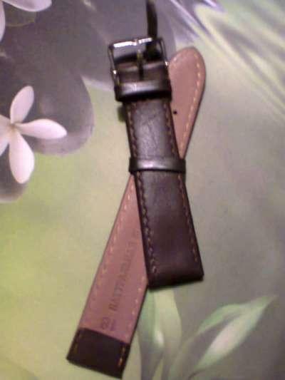 Ремешок для часов коричневый