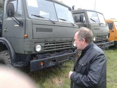 грузовой автомобиль КАМАЗ 4310 с кунгом