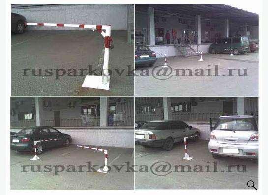 Парковочный мини-шлагбаум механический. в Москве фото 5