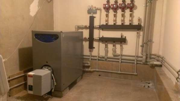 Монтаж систем отопления,водоснабжения,канализации