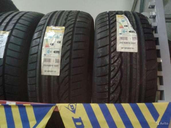 Новые немецкие Dunlop 275 35ZR19 Sport01
