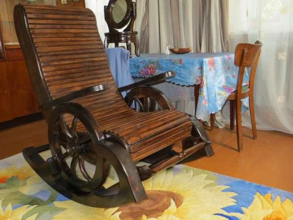 кресло - качалка материал сосна, липа. в Воронеже фото 7