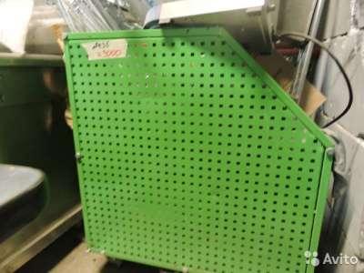 торговое оборудование Корзина зелёная металличе