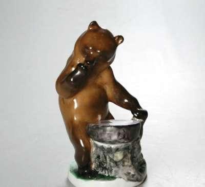 Куплю Куплю чернильницу Медведь у пня. ЛФЗ.