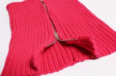 шарф-хомут РОЗОВОГО цвета