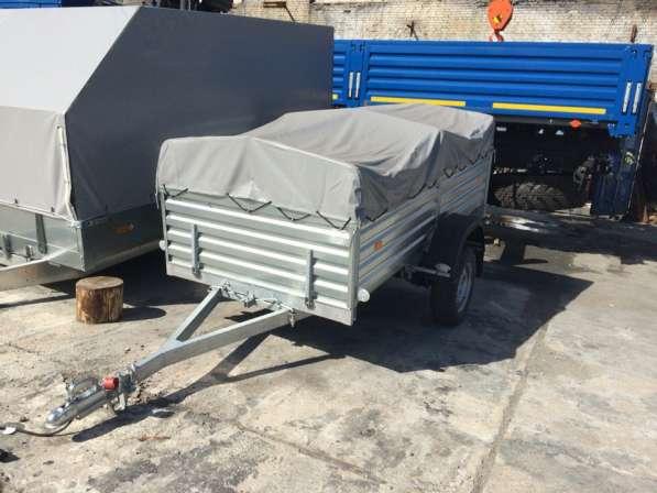 Легковой автомобильный прицеп МЗСА 2.5х1.3м