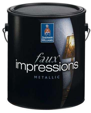 Faux impressions Metallic – Американское Декоративное покрытие с эффектом металлик: золото, жемчуг. Sherwin-Williams (США)
