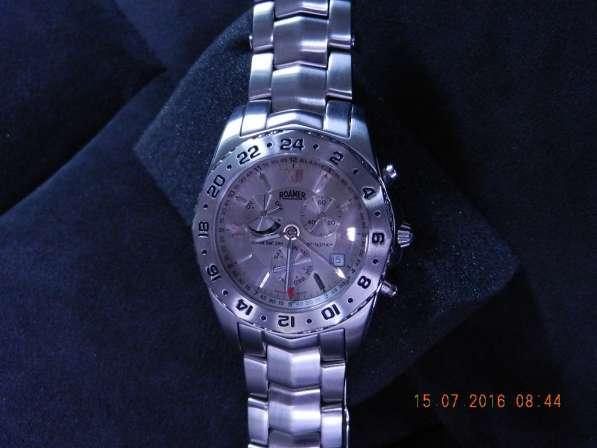 Часы мужские ROAMER Stingray Alarm GMT в Тольятти фото 5