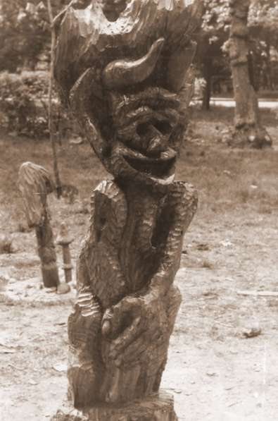 СКУЛЬПТУРА для ландшафта из дерева, камня, метала, памятники в Краснодаре фото 7