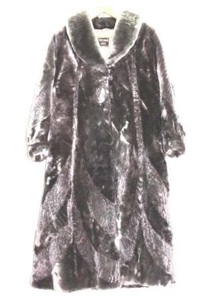 шуба женская мутоновая