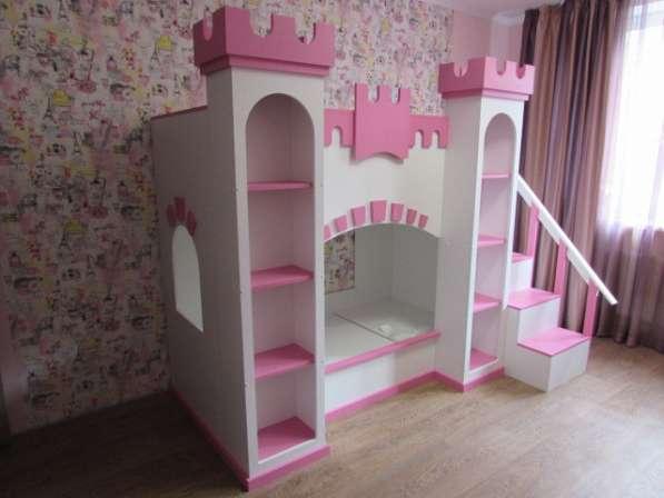 """Кровать 2-х ярусная """"Замок для принцессы"""""""