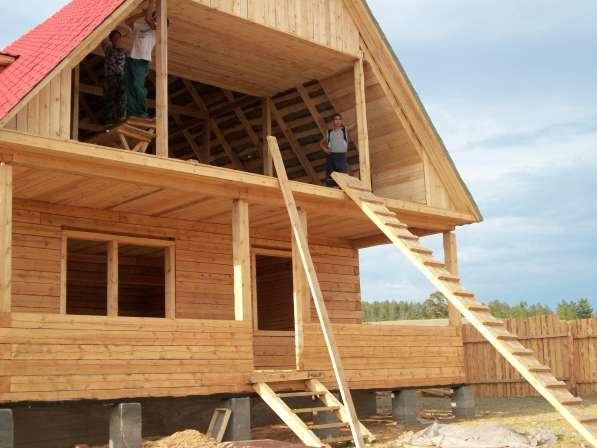 Строительство домов из бруса в Улан-Удэ