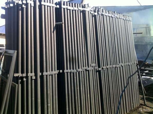 Столбы металлические круглого и профильного сечения в Владимире фото 3