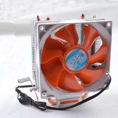 Кулер AM2,AM3,775,1155,1156 тепловые трубки, 1 вентилятор