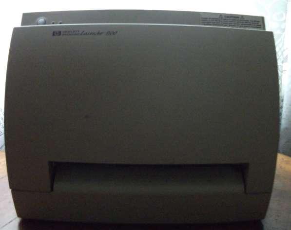 Принтер HP Laser Jet 1100 с картриджем