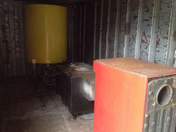 Котел 80КВт, бункер с системой подачи, газогенератор