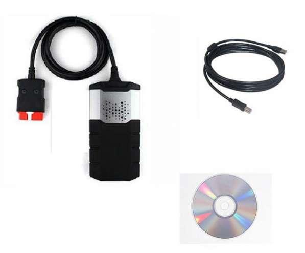 Диагностический сканер Delphi DS150e