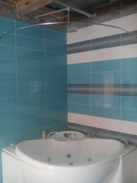 Карнизы, штанги, перекладины для шторки в ванную в Краснодаре фото 17