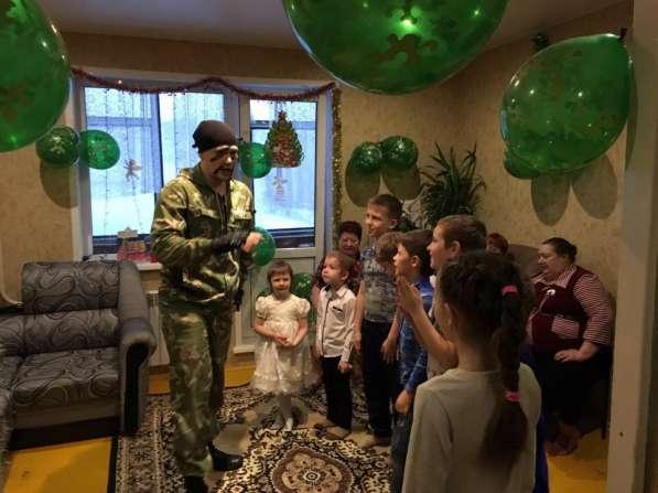 Универсальный солдат на детский праздник Красноярск
