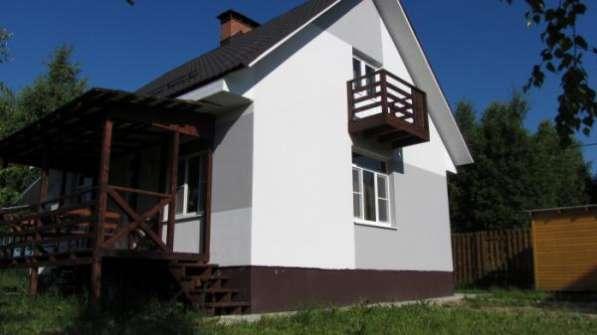 """Продается 2-х этажный коттедж 123,8 кв.м в ДНП """"Березовая долина"""", 120 км от МКАД по Минскому шоссе."""