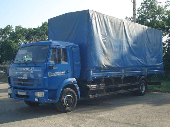 Тент КАМАЗ 5308, V – 50 куб. м, г/п 8 т, 2012 г