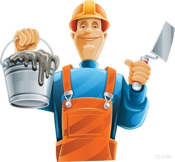 Бригада строителей и печник