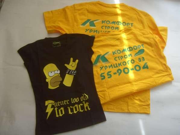 Термтрансфертные рисунки на футболки из цветной плёнки в Кургане фото 4