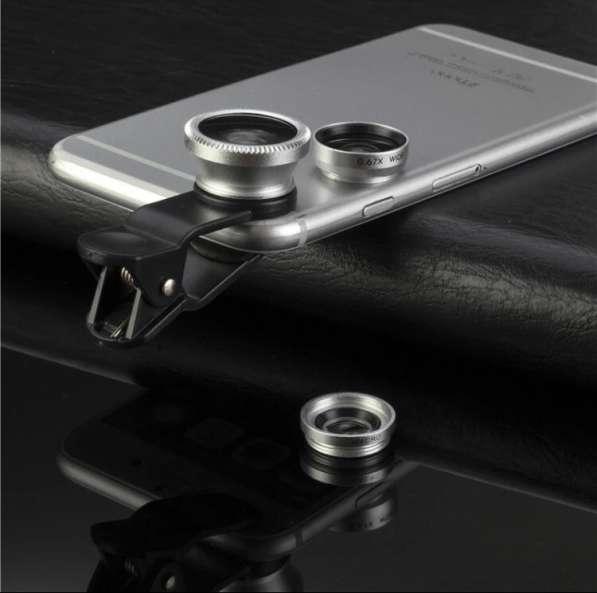 Линзы для смартфона