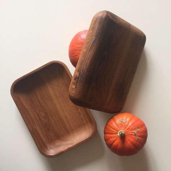 Доски дубовые для подачи блюд