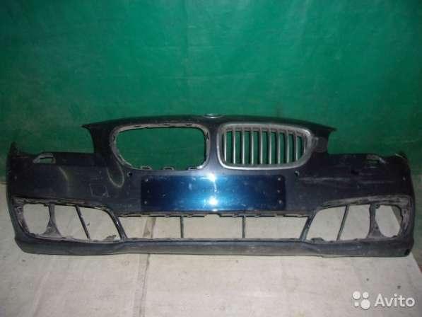 Передний бампер на BMW F10 - Рестайлинг