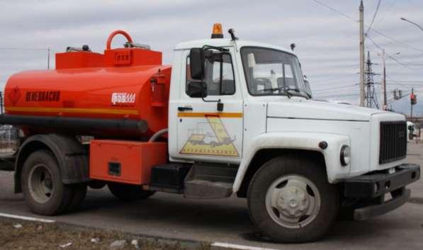 Топливозаправщик ГАЗ